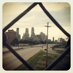 The other side of the #Minneapolis #skyline #latergram