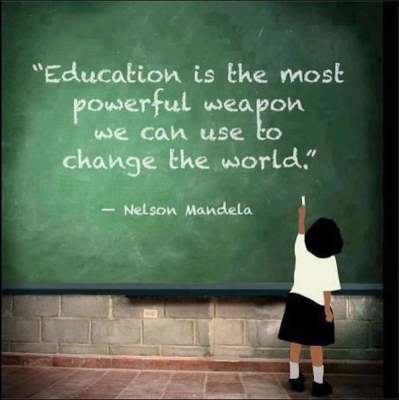 educación arma poderosa
