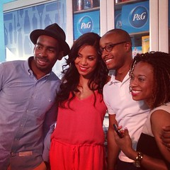 Photo opp with #SanaaLathan at P&G event in #NewYork #nyc #client #talent