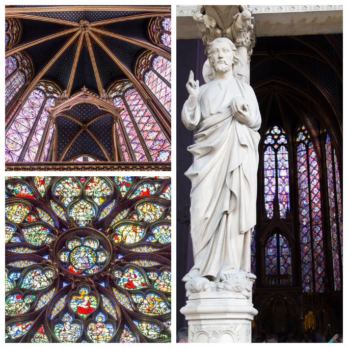 SainteChapelleCollage