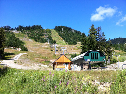 Cypress Mountain ski resort in summer (West Vancouver)