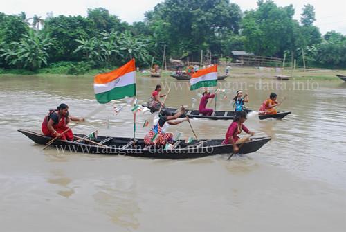 nadia independenceday boatrace radcliff shivniwas 18august churni shibnibas