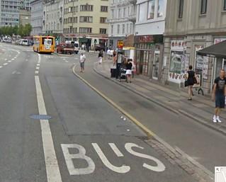 Copenhagen Bus stop