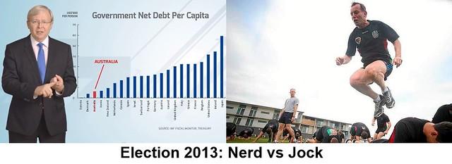 Election 2013: Nerd vs Jock