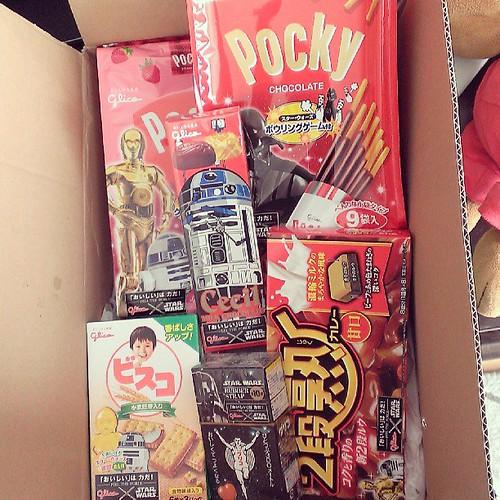 #starwars food from Japan! Even curry sauce.