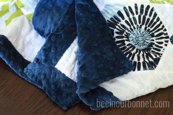 hexagon quilt 8