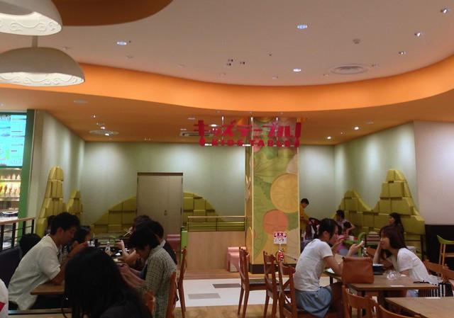 阿倍野Q's Mall 小孩用餐區