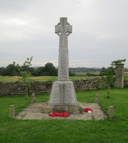 War Memorial , Cornhill-on-Tweed