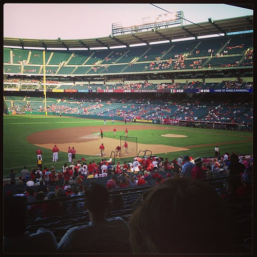 We're ready for the Angels v the Rangers!