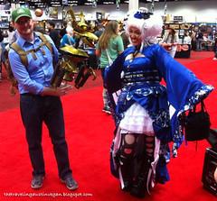 TARDIS Geisha & Crow T Robot - Gen Con 2013