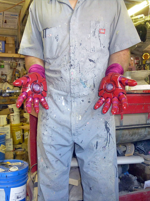 Ironman Gloves Assembled