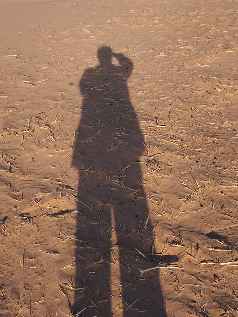 自拍照-在沙漠邊緣