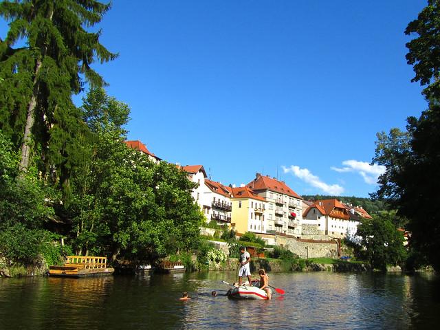 Cesky Krumlov Rafting