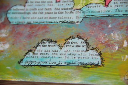 """Altered Book"" NLB Project close-up"