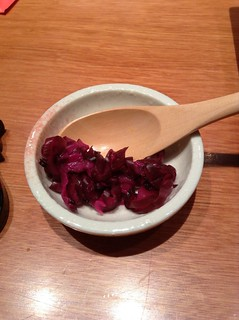 red shiso pickle