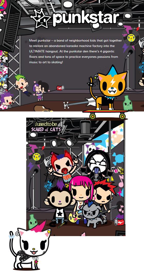 tokidoki punkstar