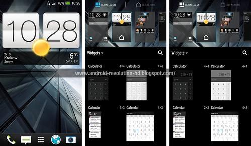 Скриншоты Sense 5.5