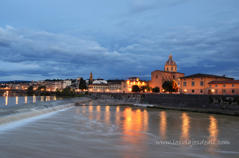 Desde Ponte Americo Vespucci