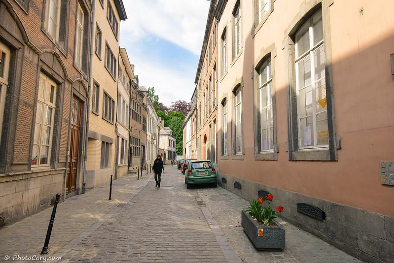Street in Namur, Belgium