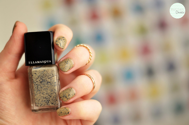 notd illamasqua freckle nail polish rottenotter rotten otter blog