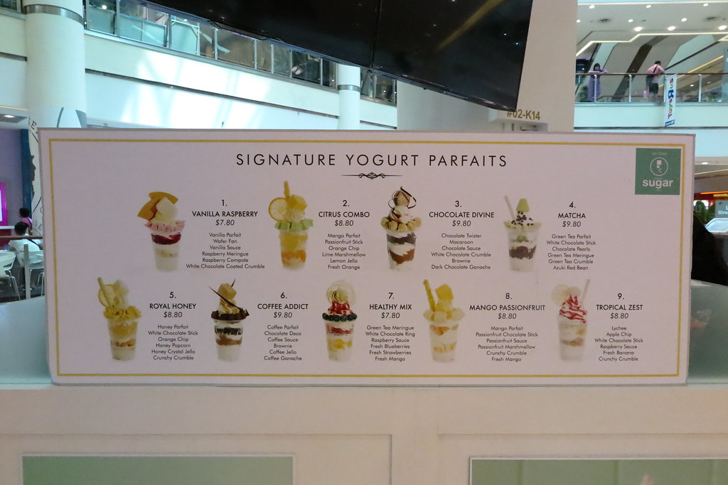 Artisan Yogurt and Dessert at Milk & Honey, City Square Mall