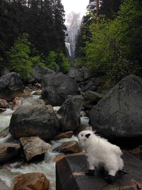 The first view of Vernal Falls