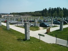 Les Megaliths at Aire Lozere ,A75