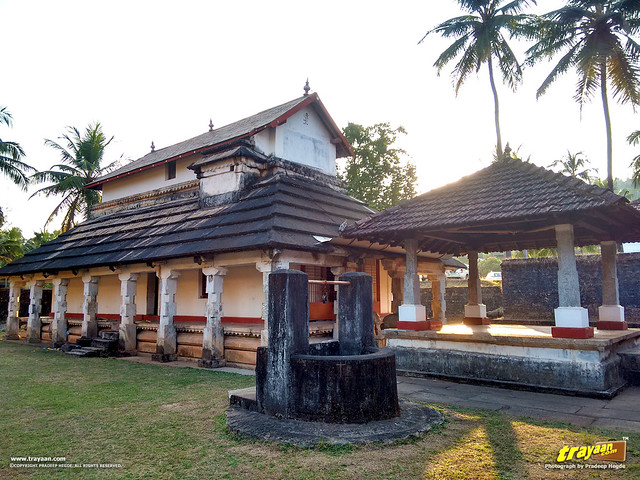 Baradi basadi or Sri Shanthinatha Swami Guru Basadi Jain Temple, in Karkala, Udupi district, Karnataka, India
