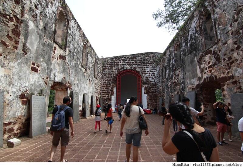 馬來西亞 麻六甲 馬六甲景點 荷蘭紅屋廣場 聖保羅堂St. Paul's Church 馬六甲蘇丹王朝水車 海上博物館15