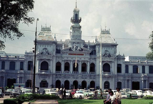 Saigon Oct/Nov 1968 - City Hall – by Brian Wickham