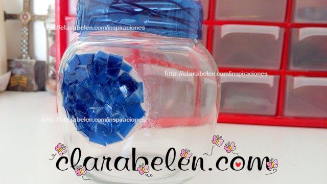 Cómo hacer un círculo rapido de teselas de plástico