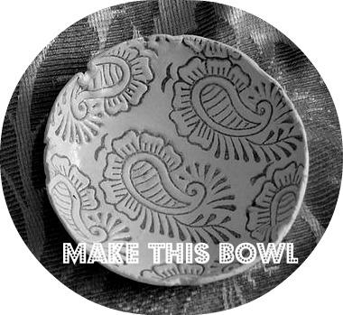 little bowls DIY free tutorial