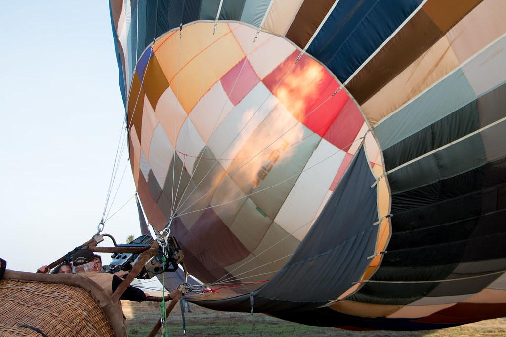 Concentración de globos en Portugal