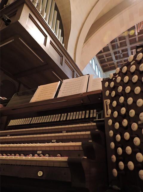 Shadyside Presbyterian Organ Console