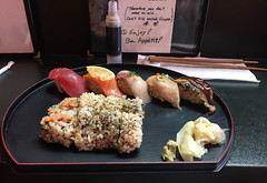 Jo-Sushi Plate at Shikibu - Culver City, CA