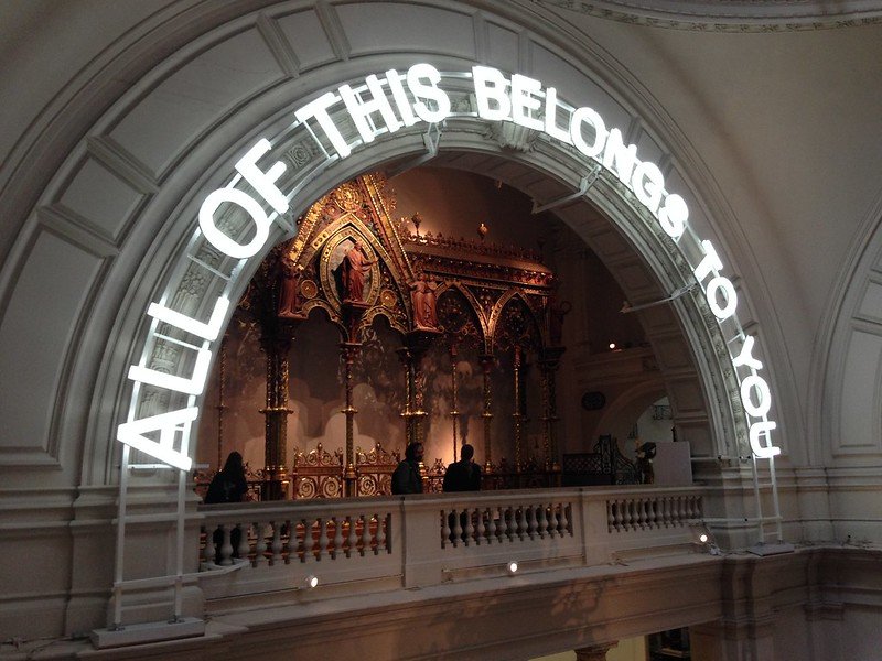Nguyen, Dana; London, England - Random Pieces of Advice, Victoria & Albert Museum