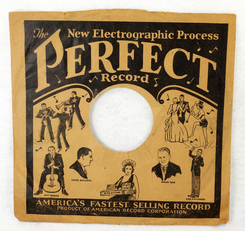 RD14635 3 Vintage PERFECT 78 RPM Album Sleeves American Record Corporation DSC06743
