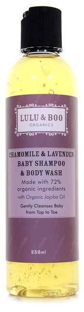 Chamomile & Lavender Babby Shampoo & Body Wash