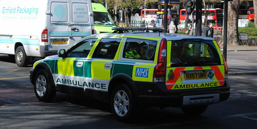 Cardiac Care Unit / Volvo XC70 / Rapid Response Car / HX57 UMV