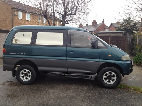 Mitsubishi 4X4 Van http://singletrackworld.com/forum/topic/mitsubishi-delica-4x4-camperday-van-1100