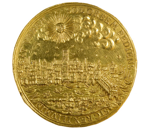 1633 Gold medal of London