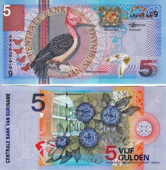 5 Gulden Surinam 2000, Suriname 146