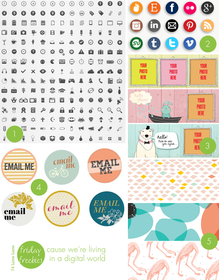 {friday freebies} digital world
