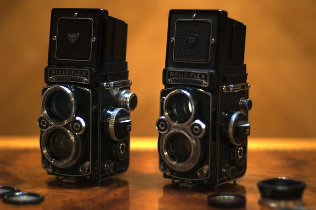 Rolleiflex 2,8F & Rolleiflex 3,5F