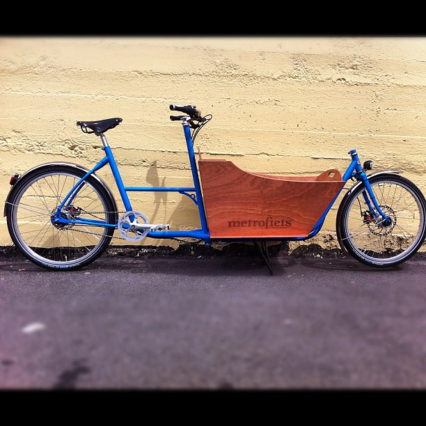 Big Bad Blue Bike