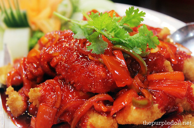 Sweet and Sour Fish Fillet Medium P280 Large P520
