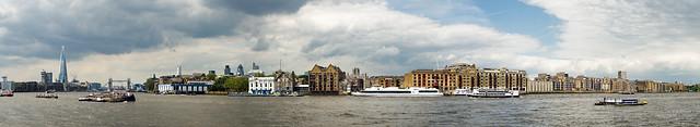 Wapping Riverside Panorama
