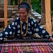 Small photo of Ikat weaving