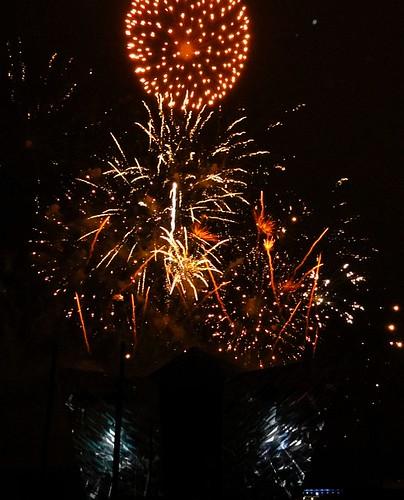 Titanic Belfast Fireworks