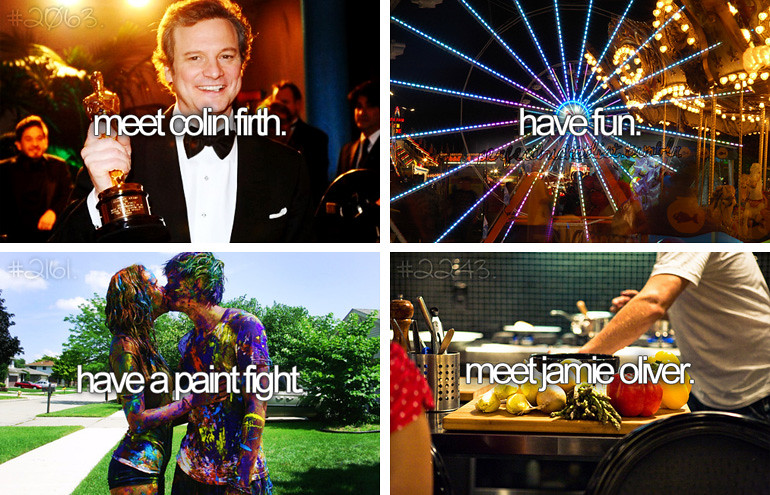 before i die a